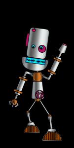 Robot marchant